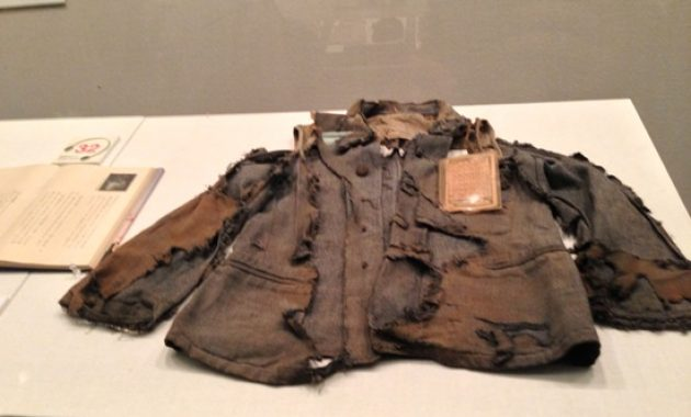The rest of atomic shirts victim explosion at the Hiroshima peace Memorial Mu